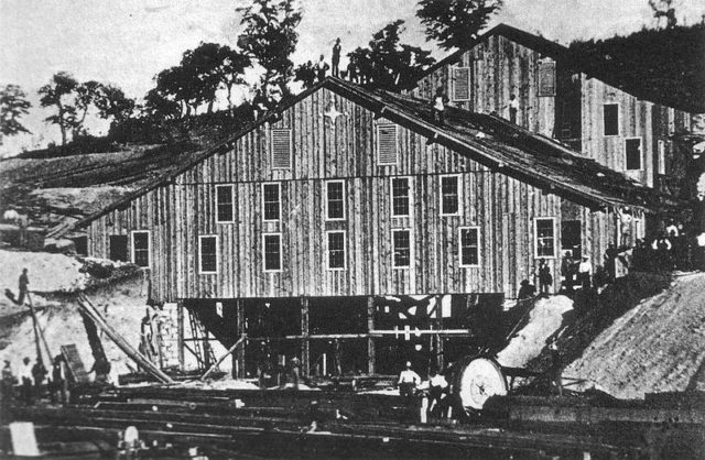 The construction of the mill