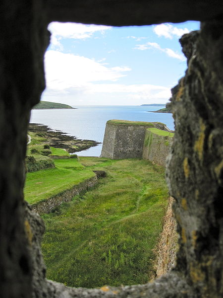 View from Guard House. Author:oiramCC BY-SA 3.0