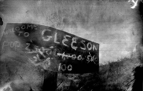 Welcome to Gleeson. Author:Kristy HomCC BY 2.0