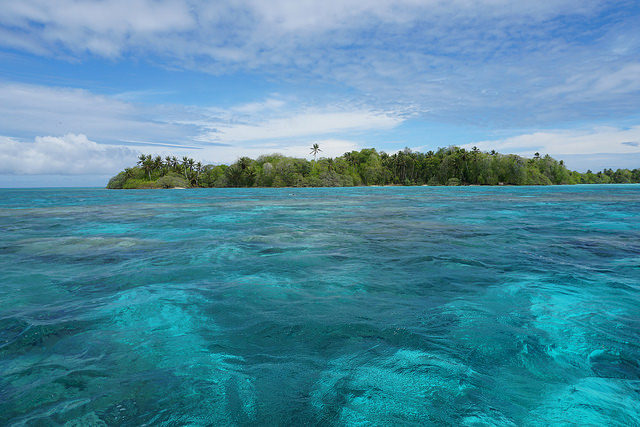 Palmyra Atoll study site – Author: USGS Unmanned Aircraft Systems – CC BY 2.0