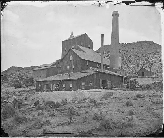 Canfield's Mill, Belmont, Nevada, 1 January 1871.