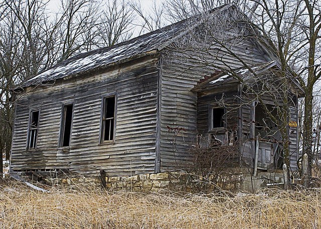 Abandoned building. Author:Patrick EmersonCC BY-ND 2.0