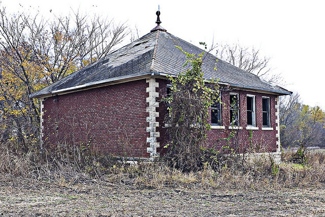 Abandoned school. Author:Patrick EmersonCC BY-ND 2.0