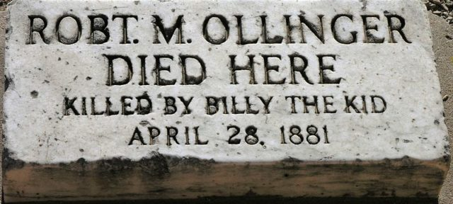 Killed by Billy the Kid/ Author:Daniel MayerCC BY-SA 3.0
