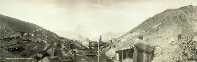 Old panorama of Jerome/ Author:West Coast Art Co