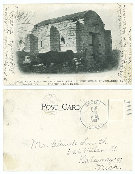 Old postcard showing the magazine/ Author:SMU Central University Libraries