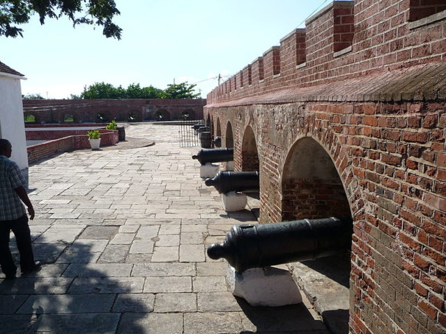 Part of Fort Charles. Author:Raychristofer – CC BY-SA 4.0