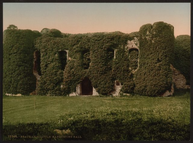 Photo of the castle in 1900.
