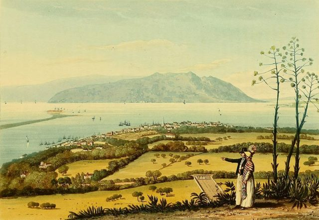 Port Royal in 1820. Author:James Hakewill