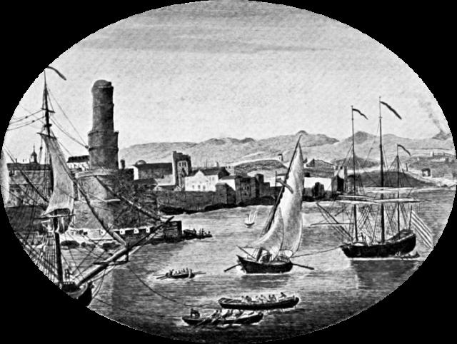 Port Royal pre-1692. Author:John Masefield