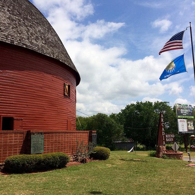 Round Barn, Arcadia. Author:Allison Meier – CC BY-SA 2.0
