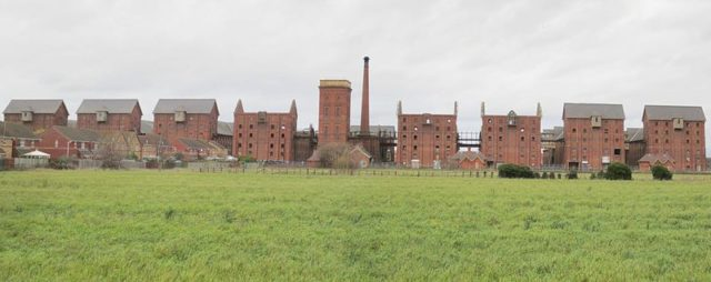 South side of the Maltings/ Author:ChristiaanPR CC BY-SA 3.0