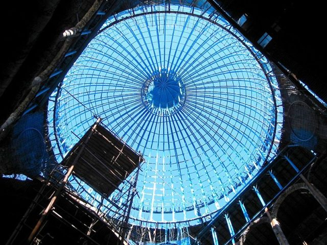 The Dome. Author:PePeEfe –CC BY-SA 3.0