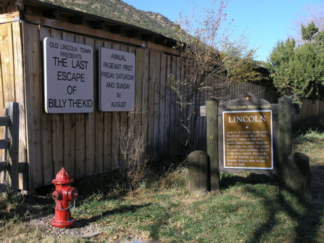 The last escape of Billy the Kid/ Author:Daniel MayerCC BY-SA 3.0