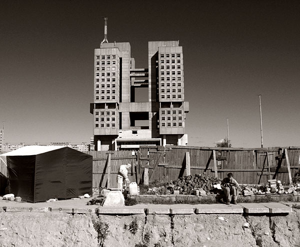 The never-finished House of Soviets. Author: Kneiphof – CC BY 1.0
