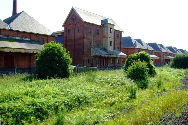 The northern part of the Maltings/ Author:DonnyladCC BY-SA 2.0