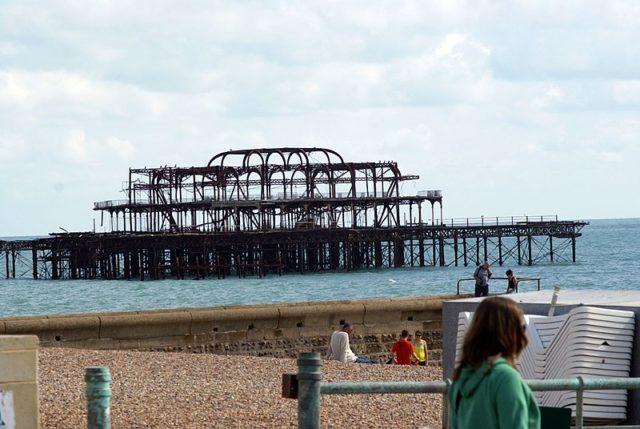 The pier today. Author:Txllxt TxllxTCC BY-SA 4.0