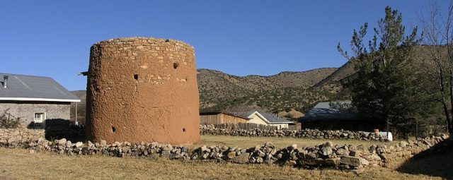 Torreon structure located in Lincoln/ Author:Daniel MayerCC BY-SA 3.0