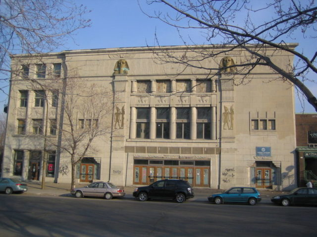 Empress Theater (also known as Cinema 5), located in Montreal's NDG district – Author: Alanah.Montreal – CC BY 2.0
