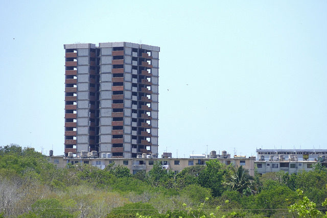 Nuclear City at Juragua Nuclear Power Plant – Author: Maxence – CC BY 2.0