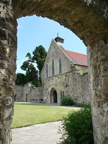 The cloister and the refectory