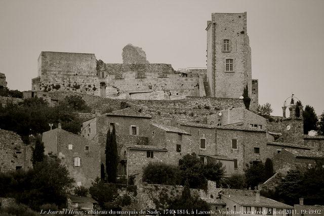 Castle Lacoste – Author: Renaud Camus – CC BY 2.0