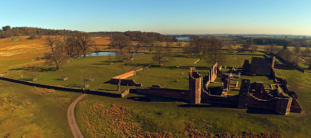 The ruins as seen from above/ Author: Astrokid16 – CC BY-SA 4.0