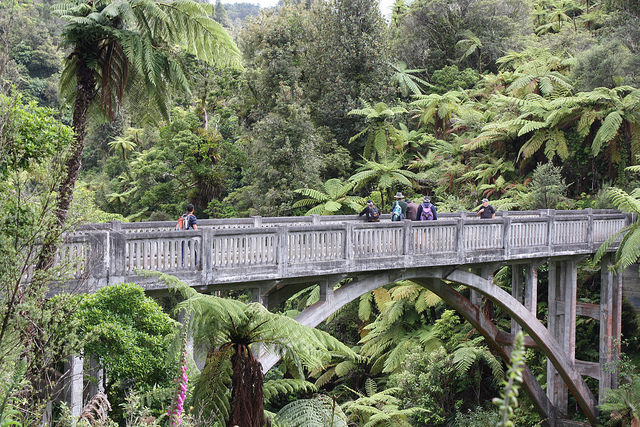 It is an attraction of the Whanganui National Park. Author: Department of Conservation – CC BY 2.0