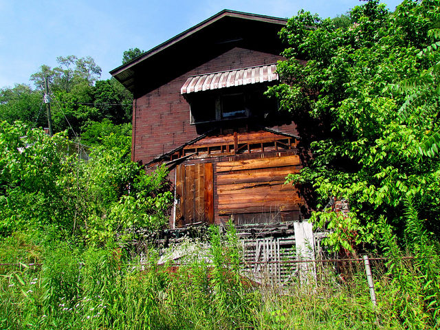 Historic District Commissary House Coal town New River Gorge Thurmond – Author: bobistraveling – CC BY 2.0