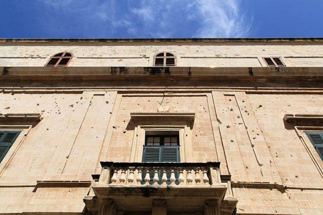 Close up of the facade. Author:Frank Vincentz –CC BY-SA 3.0
