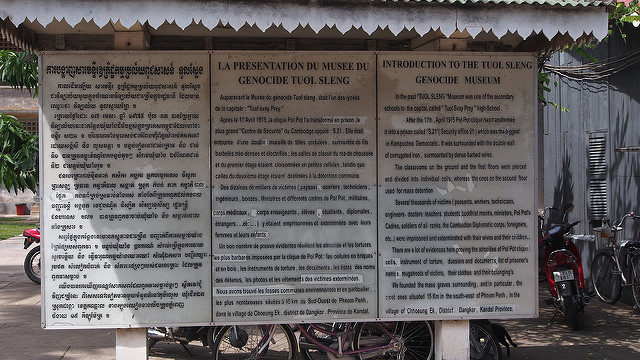 Introduction to Tuol Sleng Genocide Museum. Author:Clay Gilliland –CC BY-SA 2.0