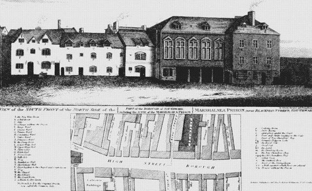 Marshalsea Prison in 1773.