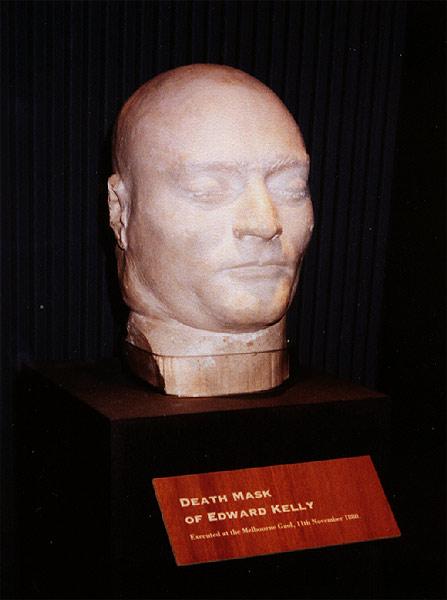 The Death Mask of Ned Kelly. Author:Steve nova–CC BY-SA 3.0