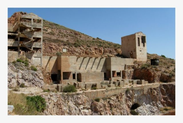 Old Gold Mines in Rodalquilar – Author: agracier – CC BY-SA 3.0