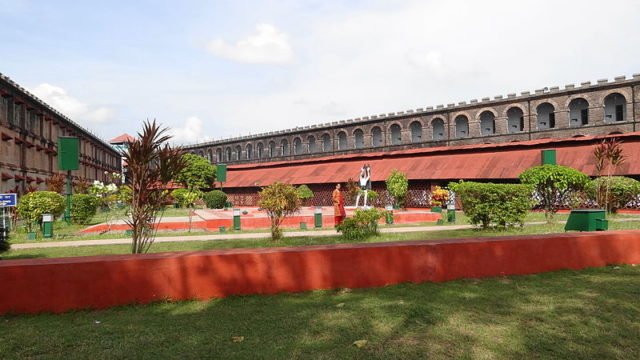 Part of the Cellular Jail in 2011. Author:Aliven Sarkar –CC BY-SA 3.0