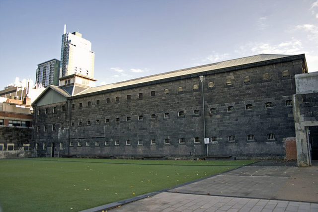 Part of the jail's exterior. Author:Bidgee –CC BY-SA 2.5 au