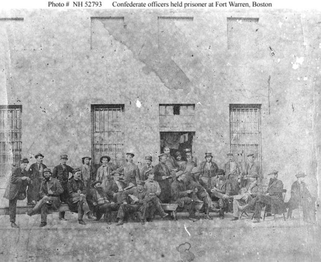 Some of the Confederate prisoners.