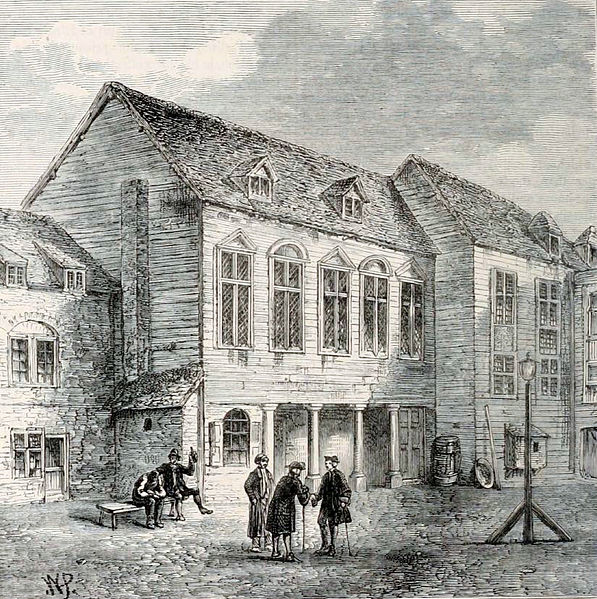 The first Marshalsea Prison. Author:W. P. – Edward Walford