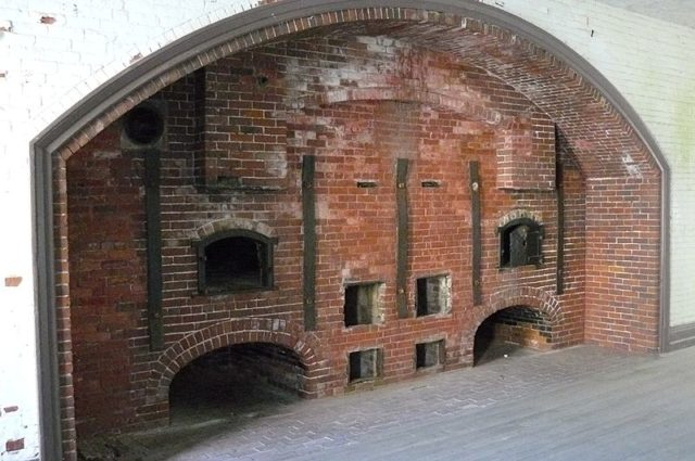 The fort's bakery. Author:Zandcee–CC BY-SA 3.0