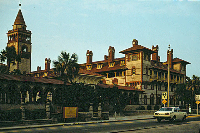 The hotel in 1979. Author:Rainer Halama –CC BY-SA 3.0