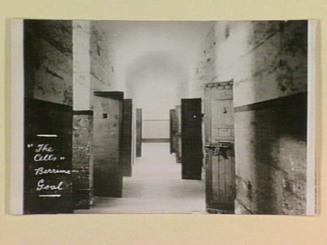 The interior of the Berrima Correctional Centre. Author:State Library of Victoria