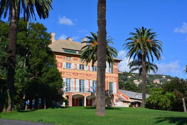 What is left of Villa Grimaldi. Author:Alessandro.di –CC BY-SA 4.0