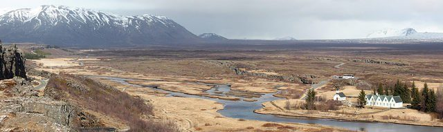 Þingvellir, or Thingvellir, is a national park lying in rift valley in southwestern Iceland. It is the meeting point of the North American and Eurasian tectonic plates.Tanya Hart CC BY-NC 2.0