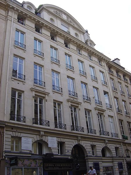 229-235 rue Saint-Honoré. Author: Jospe – CC BY-SA 3.0