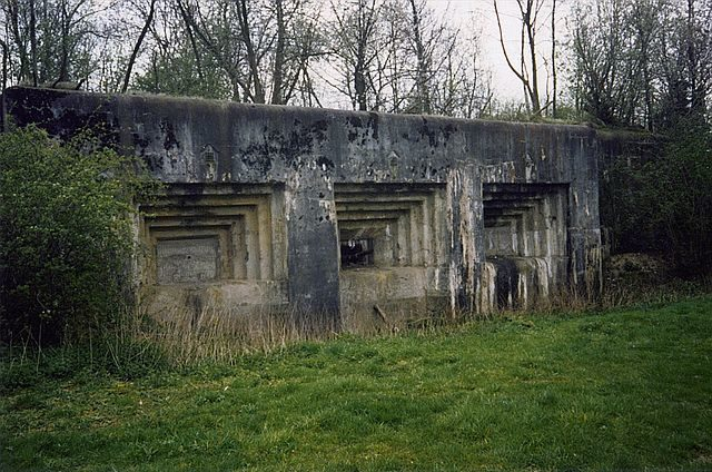 """Maastricht 2"" one of Fort Eben-Emael's casemates/ Author: Scargill – CC BY-SA 3.0"