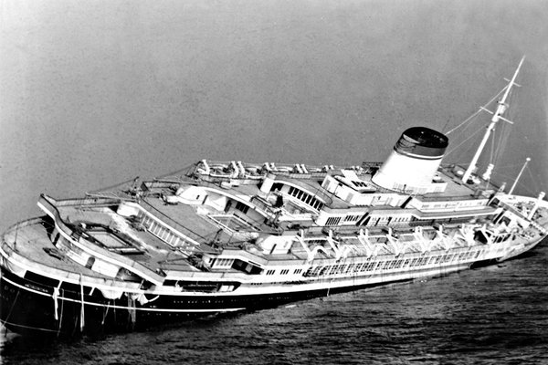 The Doria safely completed 100 transatlantic crossings between 1953 and 1956, and it initially seemed that its 101st would be no different.