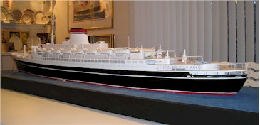 A model of the ocean liner. Author:Mampato –CC BY-SA 2.5