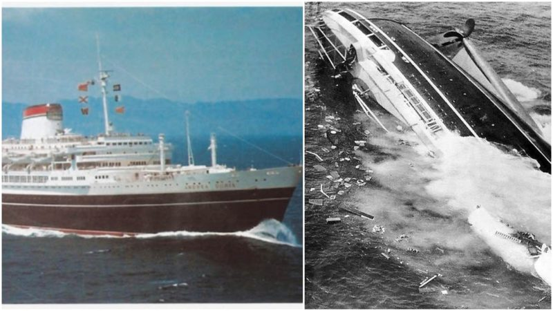 Today, SS Andrea Doria rests a...