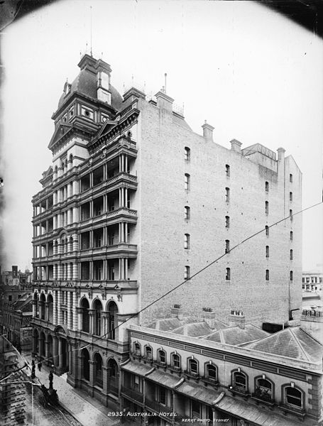 Hotel Australia alternative angle. Author:Powerhouse Museum Collection –No restrictions