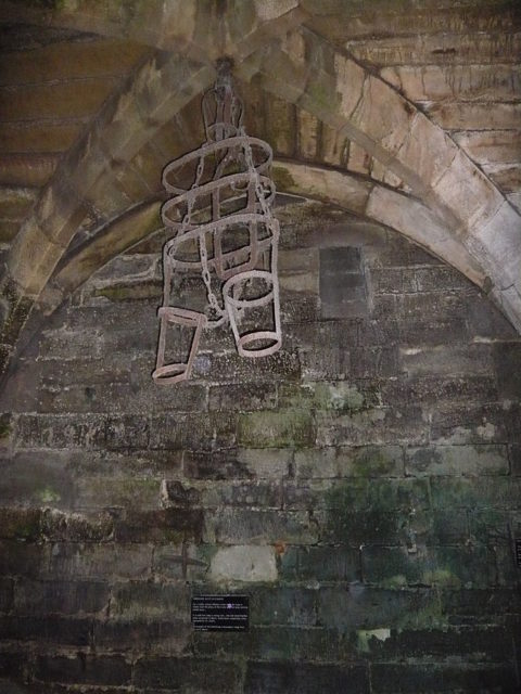 Part of the castle's torture chamber. Author:Chensiyuan –CC BY-SA 3.0